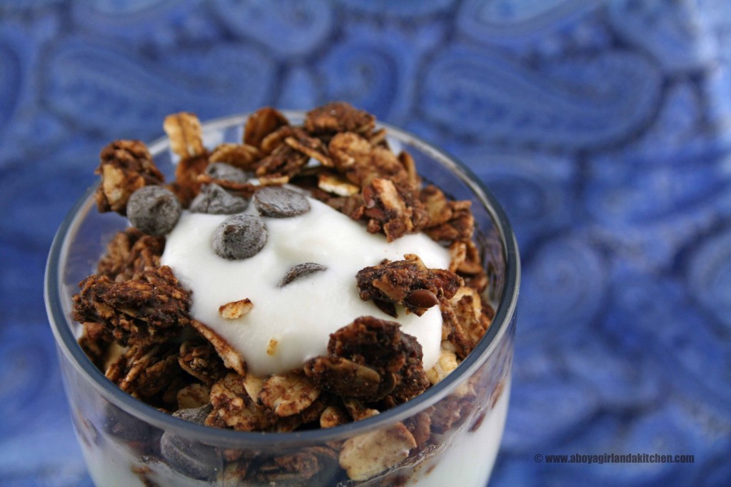 Chocolate-Granola-Parfait