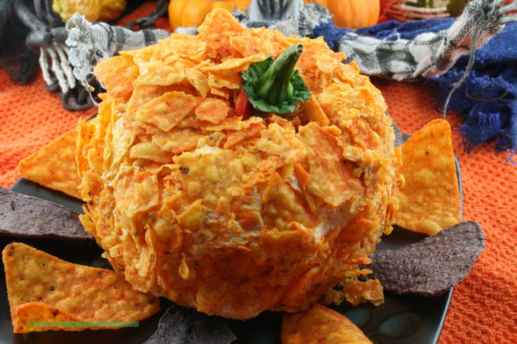 Pumpkinshape-Cheeseball