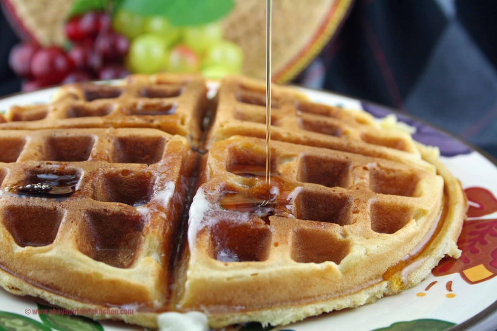 Buttermilk Waffles- Doubled Recipe