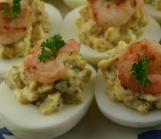 Gourmet deviled eggs