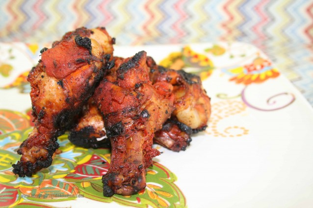 Achiote Chicken Wings